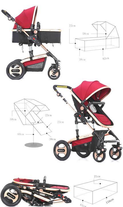 kids b b poussette canne inclinable poussette buggy landau voyage portable ebay. Black Bedroom Furniture Sets. Home Design Ideas