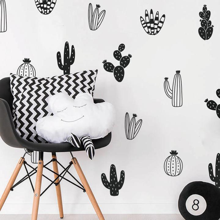 Feather Wall Decal Vinyl Wall Sticker Feathers Art Decals Tribal Boho Ellaseal