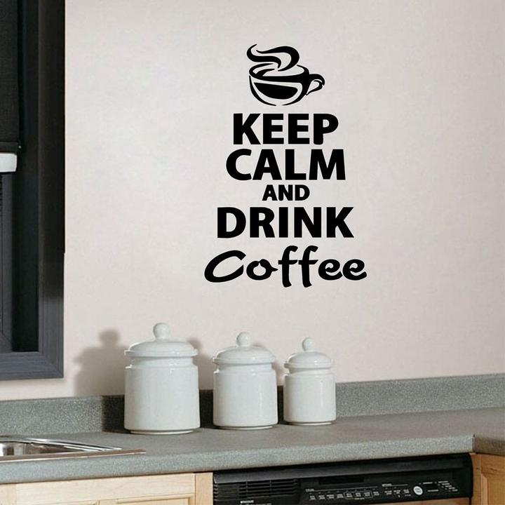 Wall Tattoo Wall Sticker hallway living room youth bedroom keep calm and chill out