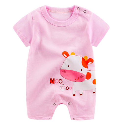 Newborn Baby Rompers,Toddler Infant Girls Boys Cotton Jumpsuit Cartoon Duck Playsuit Outfit Clothes
