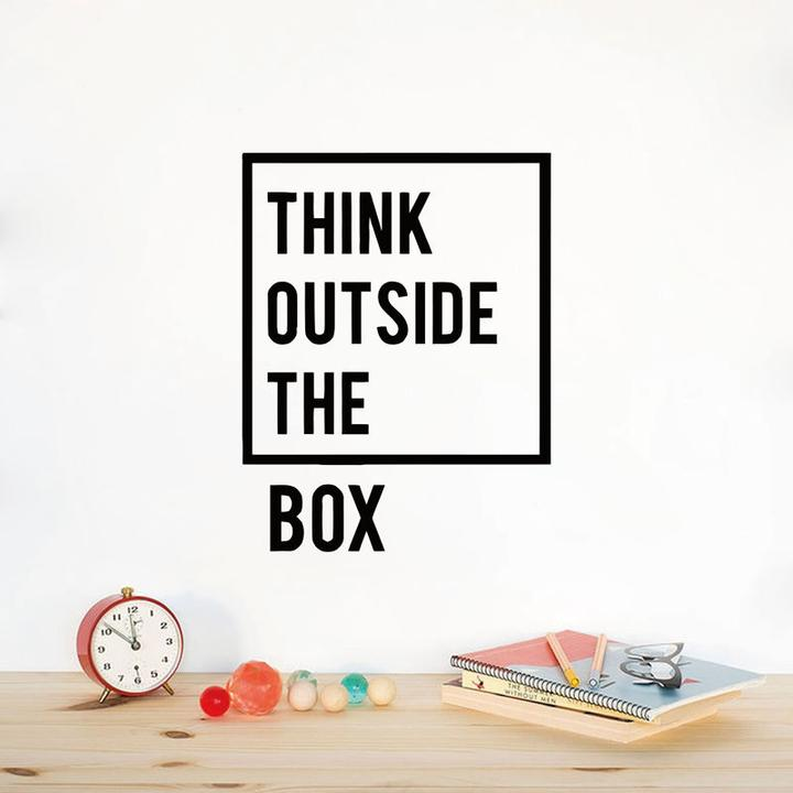 THINK BIG Inspirational Wall Decal Sticker Quote Classroom Office Decor Vinyl