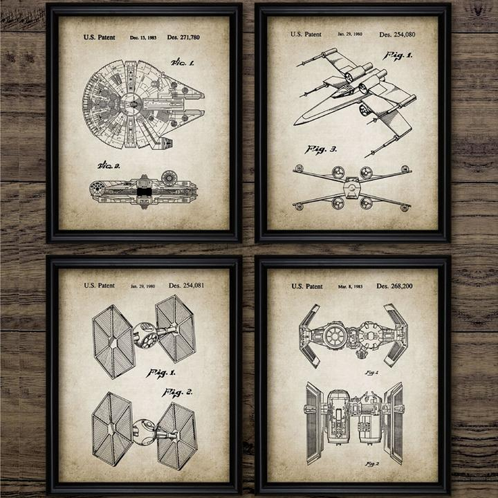 CANVAS QUOTE WALL ART PRINTS STAR WARS YOUR COUNTRY NEEDS YOU PICTURES POSTERS