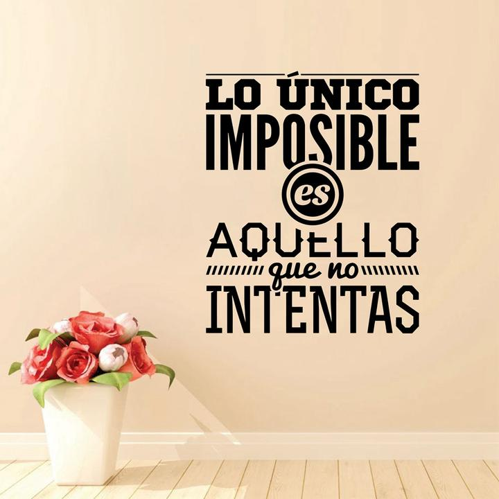 Spanish Inspirational Quotes Wall Decals Vinyl Wall Sticker Art Mural Home Decor Ebay