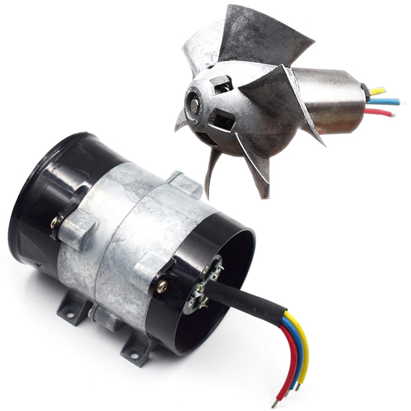 Electric Turbochargers: 12V 16.5A Electric Turbine Turbo Charger Air Intake Turbo