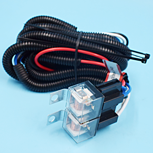 7 halogen h4 headlight relay wiring harness 2 headlamp. Black Bedroom Furniture Sets. Home Design Ideas