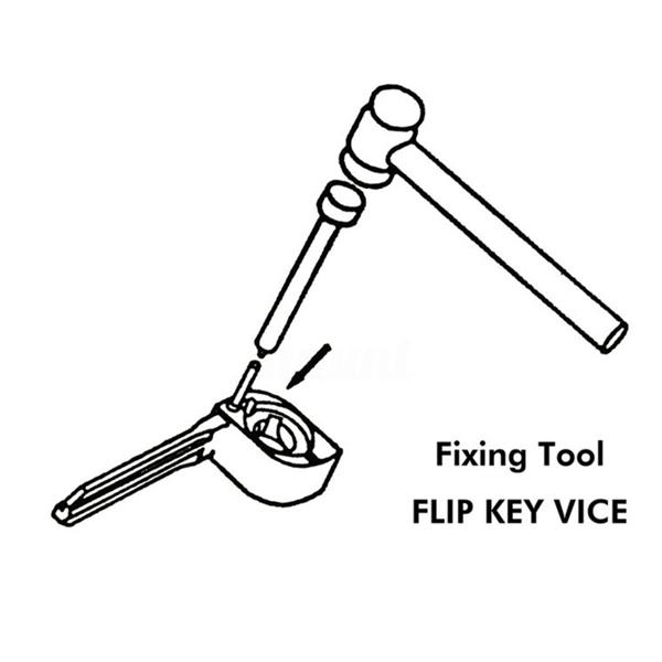 Flip Vice Fixing Pin Remove Tool For Car Door The Key Repair Tidy Truck Durable