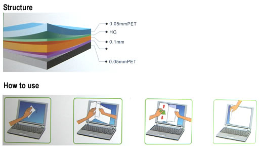 """2X Clarity//Anti Glare 13.6/"""" Screen Protector For Acer Aspire R13 13.3/"""" Touch"""