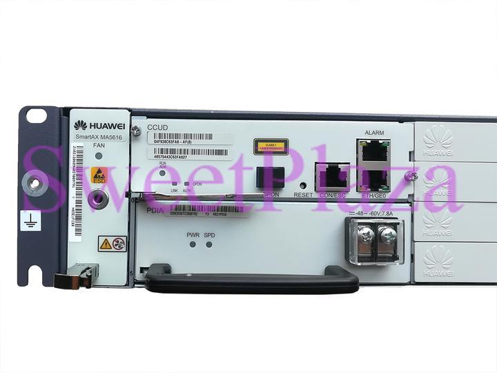 Ccud New Hua Wei Original Control Board From Hua Wei Dslam Ma5616 Fiber Optic Equipments