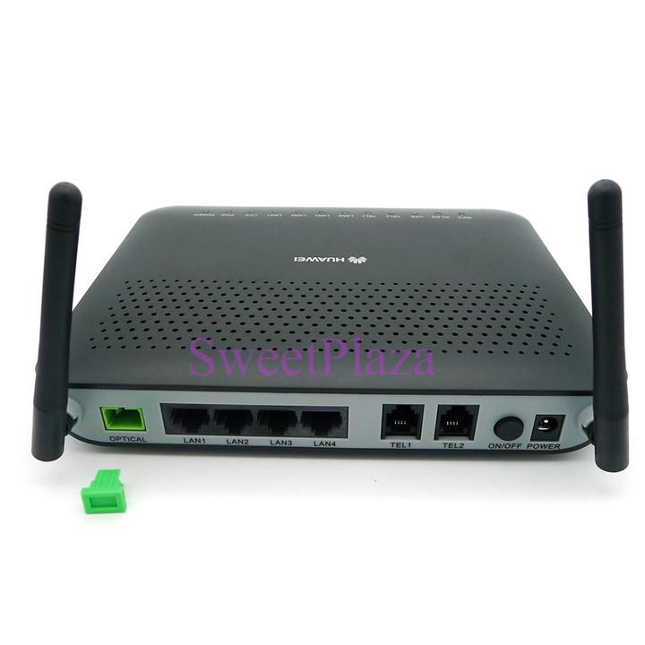 Details about SC/APC port Huawei HG8245 Gpon ONT, ONU, 4GE and 2 voice  port,WIFI,English