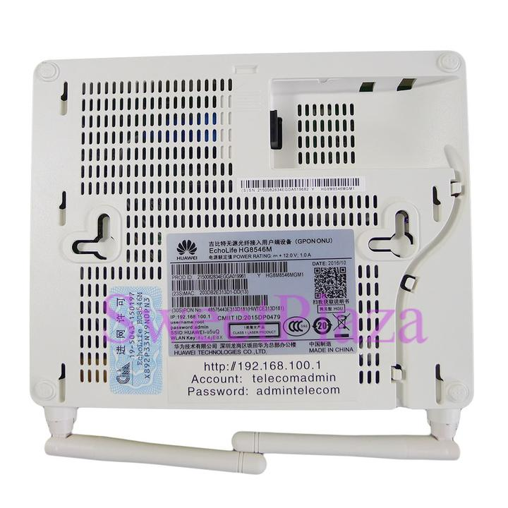 Details about Huawei GPON wireless ONU HG8546M with 4*FE ports+1*phone  port+wifi